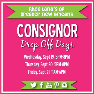 consignor drop off
